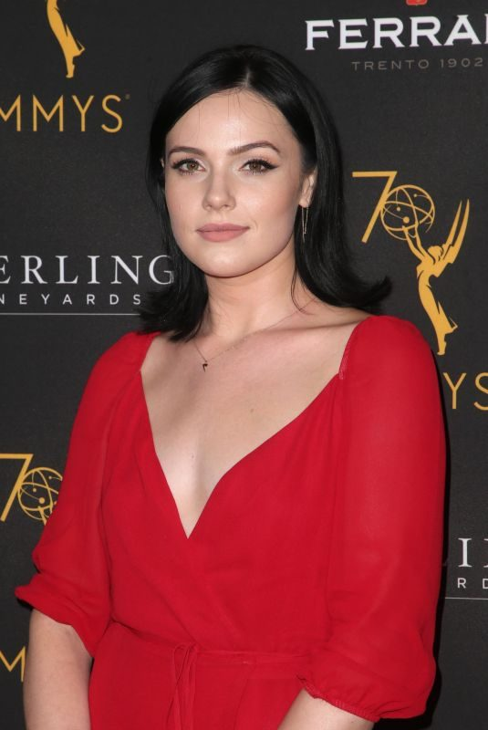 CAIT FAIRBANKS at Television Academy Daytime Peer Group Emmy Celebration in Los Angeles 08/22/2018