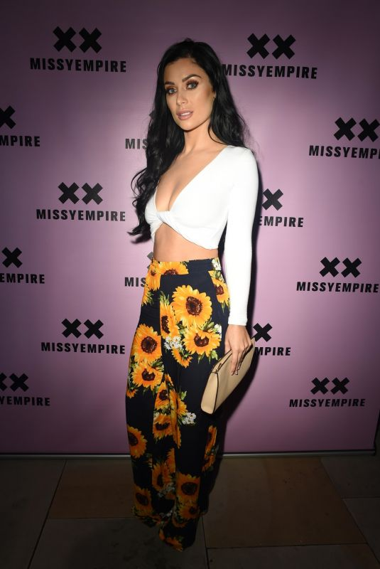 CALLY JANE BEECH at Missy Empire Fashion Party in Manchester 08/16/2018