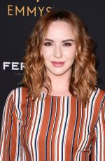 CAMRYN GRIMES at Television Academy Daytime Peer Group Emmy Celebration in Los Angeles 08/22/2018