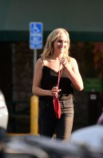 CANDICE ACCOLA Out Sopping in Los Angeles 08/26/2018