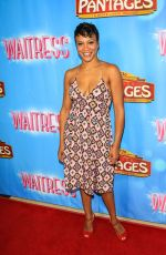 CARLY HUGHES at Waitress National Tour at Hollywood Pantages Theatre 08/03/2018
