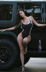 CHARLIE RIINA for 136 Water at a Gas Station in Malibu 08/14/2018