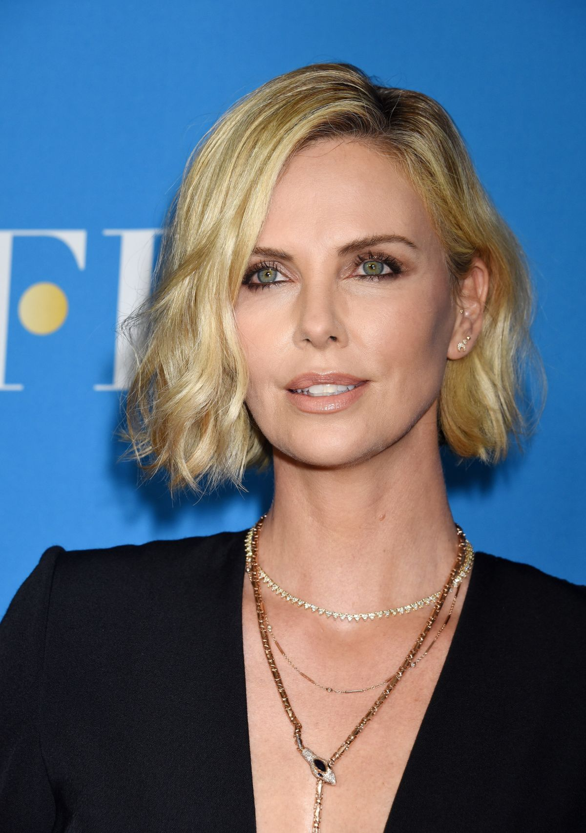 CHARLIZE THERON at Big Screen Achievement Awards ceremony