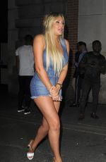 CHARLOTTE CROSBY at Libertine Nightclub in London 08/19/2018