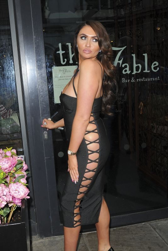 CHARLOTTE DAWSON at Celebs on the Farm Launch Party in London 08/20/2018