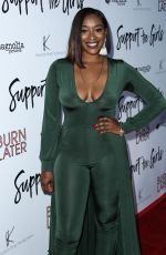 CHARMAINE PRATT at Support the Girls Premiere in Los Angeles 08/22/2018