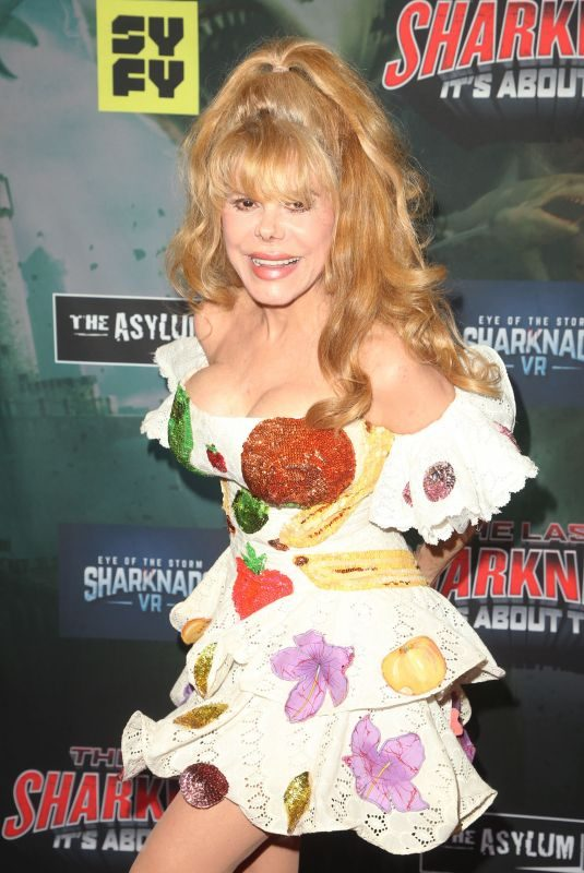 CHARO at The Last Sharknado: It's About Time Premiere in Los Angeles 08/19/2018