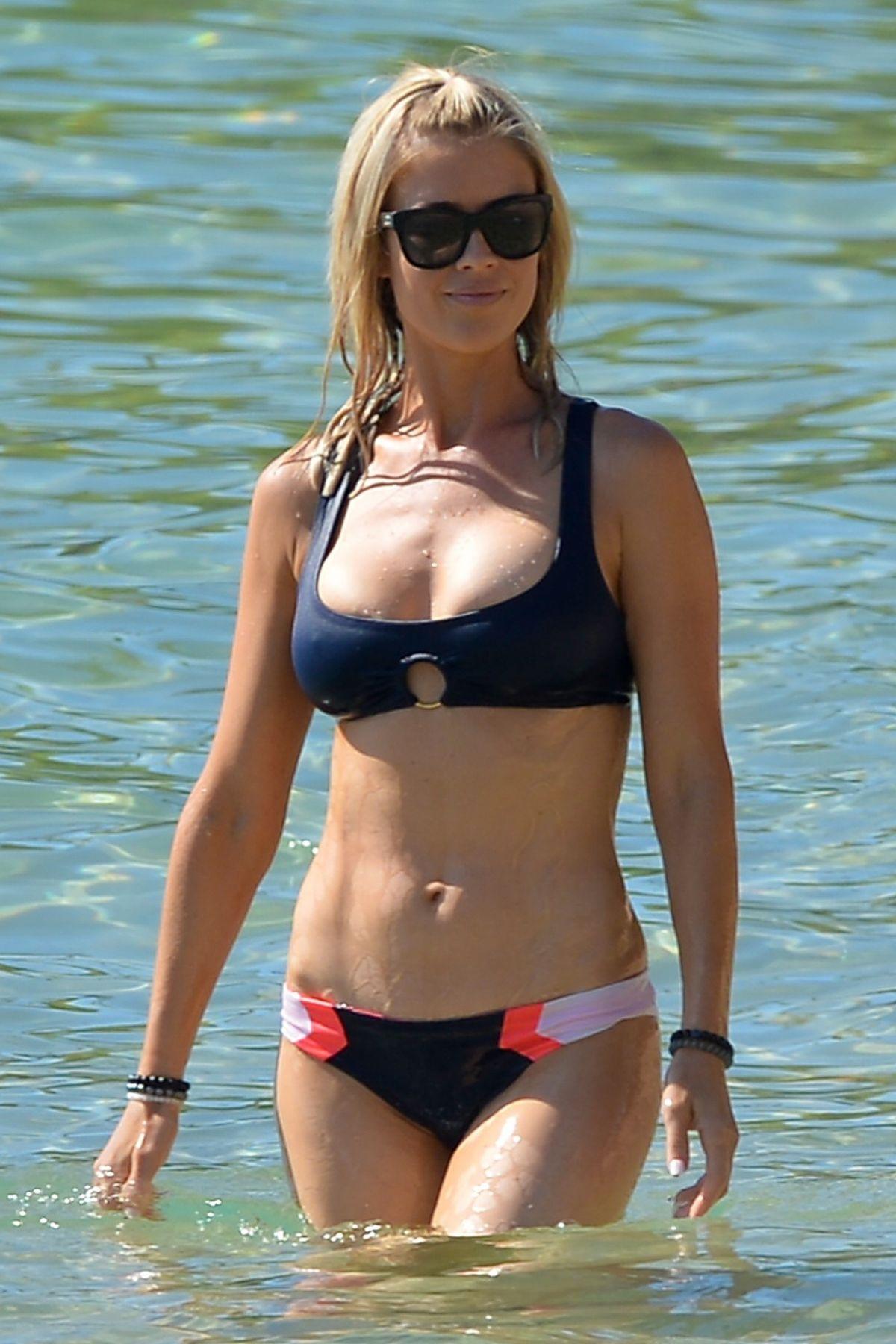Christina El Moussa In Bikini At A Beach In Hawaii 08182018
