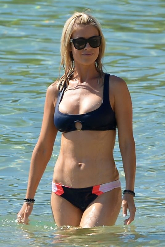 CHRISTINA EL MOUSSA in Bikini at a Beach in Hawaii 08/18/2018
