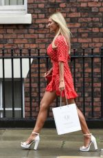 CHRISTINE MCGUINNESS at Crystal Clear Spa in Liverpool 08/10/2018