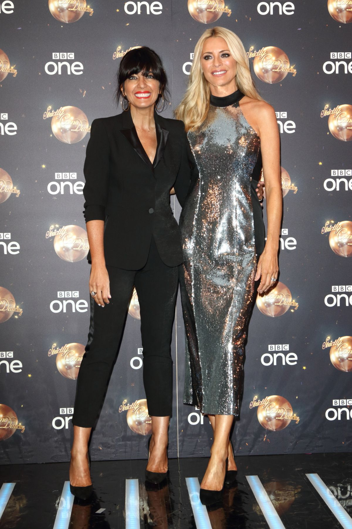 Watch Claudia Winkleman and Tess Daly reveal Strictly line-up news as filming finally starts video