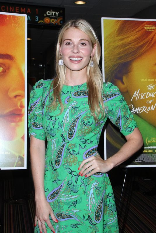 COMFORT CLINTON at The Miseducation of Cameron Post Screening in New York 08/01/2018