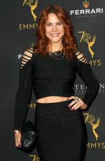 COURTNEY HOPE at Television Academy Daytime Peer Group Emmy Celebration in Los Angeles 08/22/2018