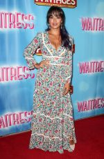 COURTNEY REED at Waitress National Tour at Hollywood Pantages Theatre 08/03/2018
