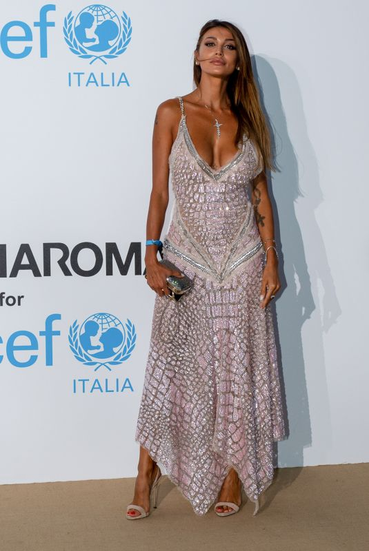 CRISTINA BUCCINO at Unicef Summer Gala in Porto Cervo 08/10/2018
