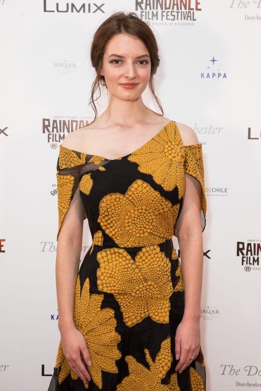 DAKOTA BLUE RICHARDS at Raindance Film Festival Private Reception in London 08/22/2018