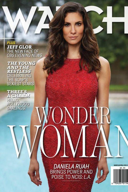 DANIELA RUAH in CBS Watch! Magazine, March/April 2018