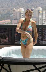 DANIELLA WESTBROOK in Bikini on Holiday in Spain 07/31/2018