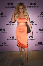 DANIELLE SELLER at Missy Empire Fashion Party in Manchester 08/16/2018