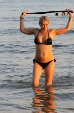 DANNIELLA WESTBROOK in Bikini on the Beach in Spain 08/06/2018