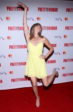 DEBBIE GIBSON at Pretty Woman the Musical at Nederlander Theatre in New York 08/16/2018