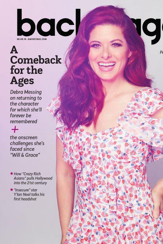 DEBRA MESSING in Backstage Magazine, August 2018