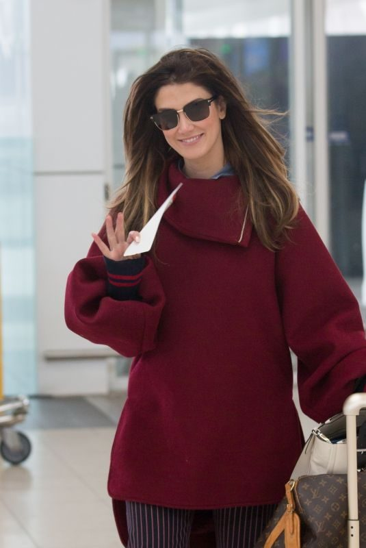 DELTA GOODREM at Airport in Adelaide 08/19/2018