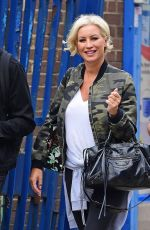 DENISE VAN OUTEN Out and About in London 08/15/2018