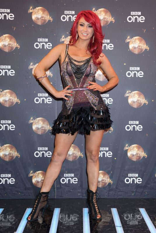DIANNE BUSWELL at Strictly Come Dancing Launch in London 08/27/2018