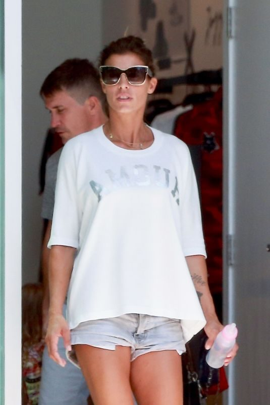 ELISABETTA CANALIS Out Shopping in West Hollywood 08/04/2018
