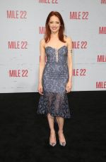 ELIZABETH CARLISLE at Mile 22 Premiere in Los Angeles 08/09/2018