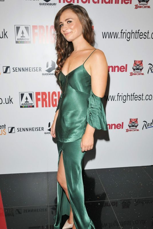 EMILY TUCKER at Heretiks Premiere in London 08/25/2018