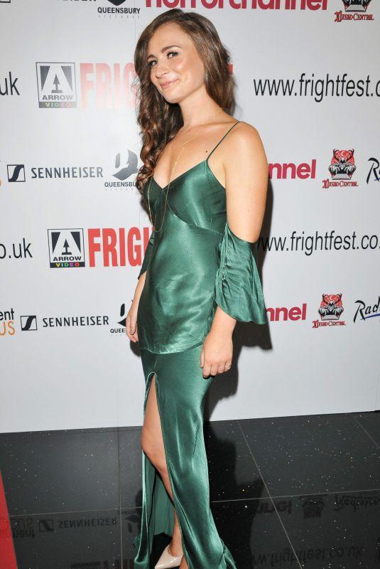 EMILY TUCKER at Heretiks Premiere in London 08/25/2018