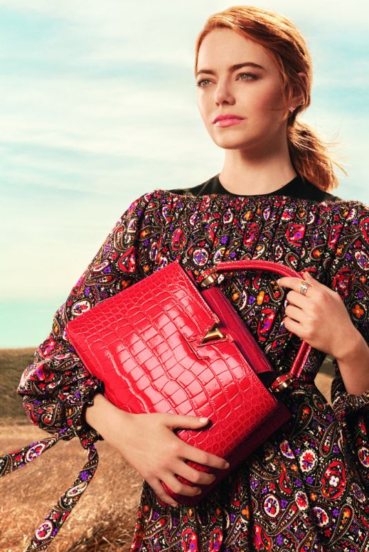 EMMA STONE for Louis Vuitton Pre-fall 2018 Collection