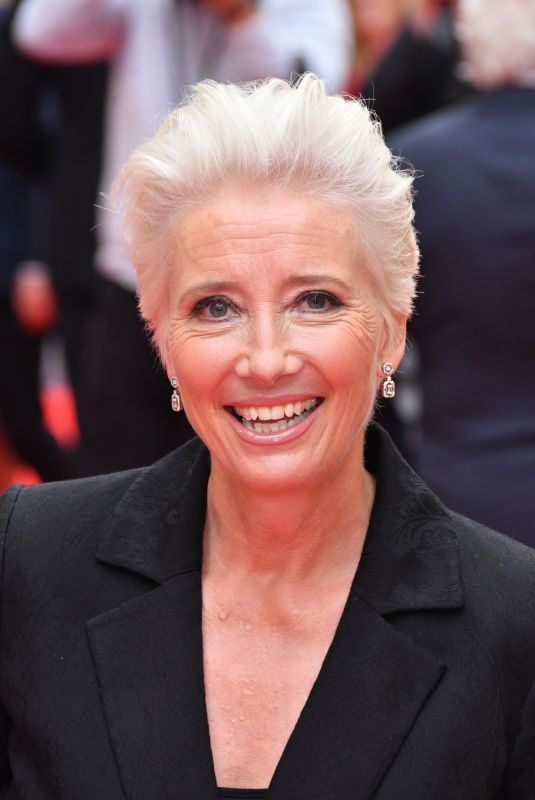 EMMA THOMPSON at The Children Act Premiere in London 08/16/2018