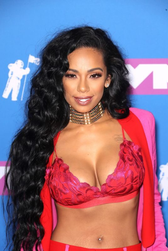 ERICA MENA at MTV Video Music Awards in New York 08/20/2018