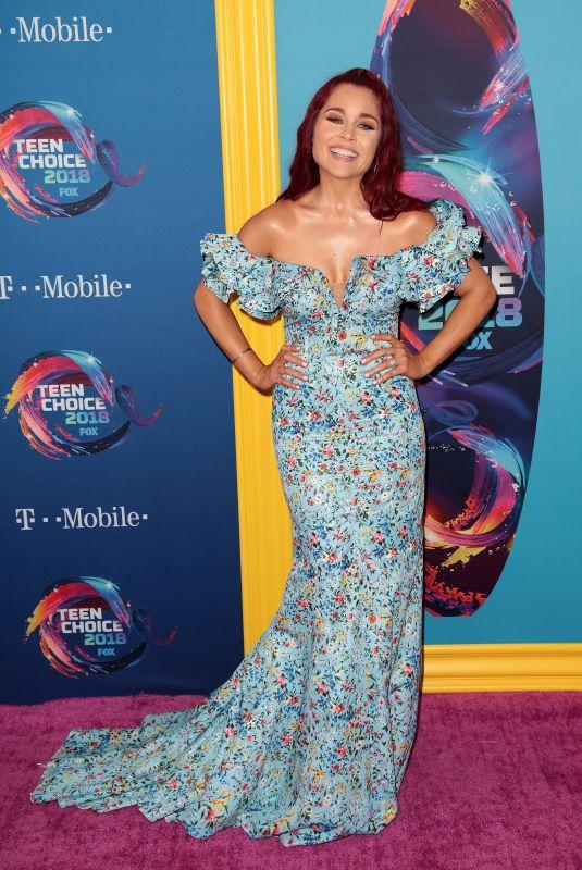 ERIN ROBINSON at 2018 Teen Choice Awards in Beverly Hills 08/12/2018