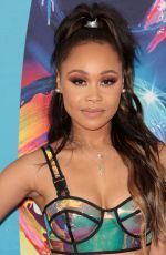 EVVIE MCKINNEY at 2018 Teen Choice Awards in Beverly Hills 08/12/2018