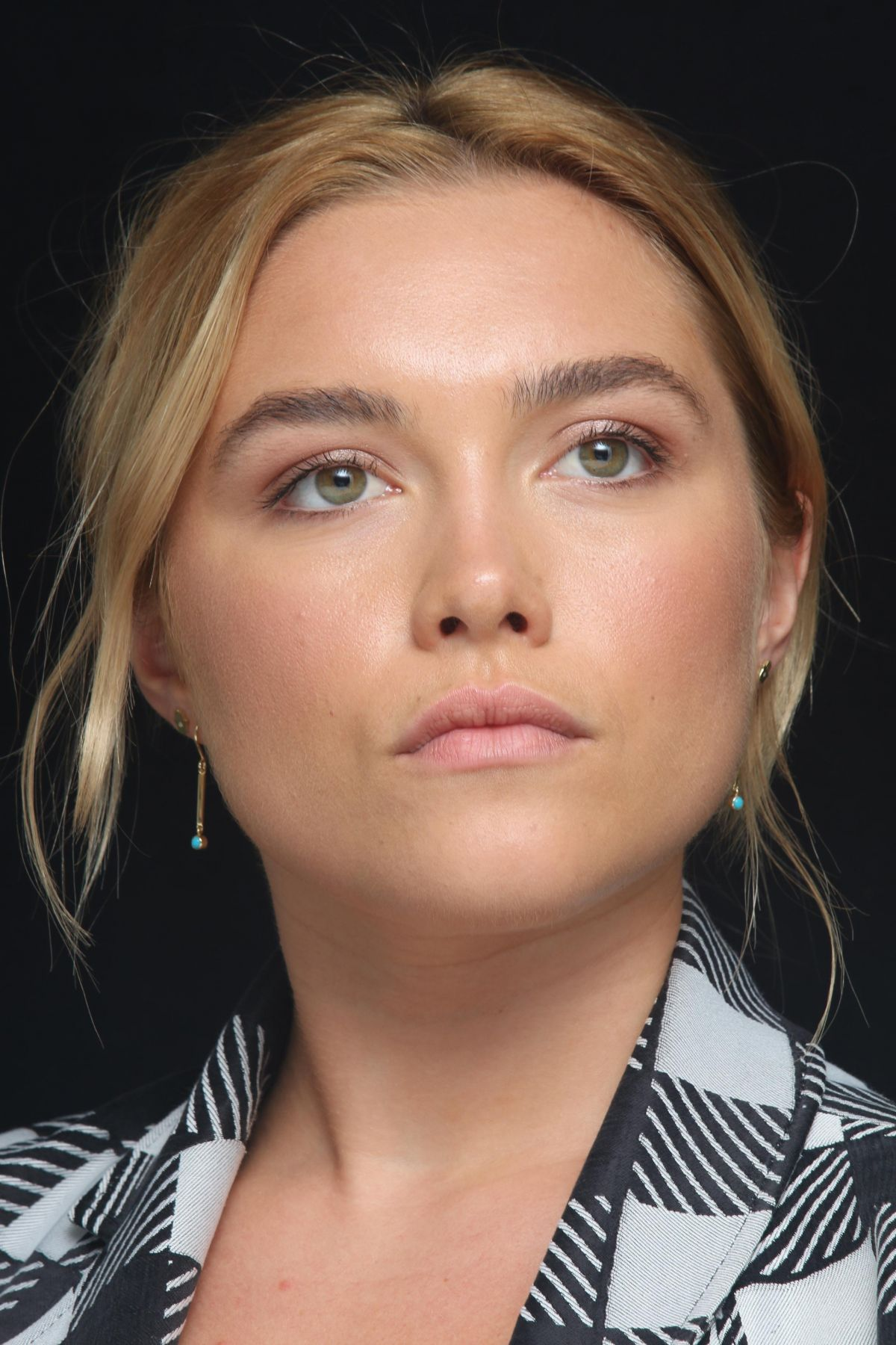 FLORENCE PUGH at The Little Drummer Girl Press Conference ...