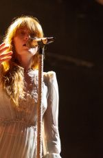 FLORENCE WELCH Performs at Outside Lands Music Festival in San Francisco 08/11/2018