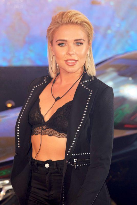 GABBY ALLEN at Celebrity Big Brother Launch in Borehamwood 08/16/2018