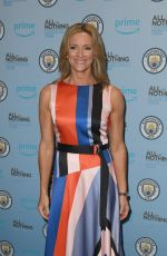 GABBY LOGAN at All or Nothing Series Premiere in Manchester 08/15/2018