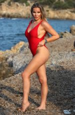 GEORGIA KOUSOULOU in Swimsuit and Bikini at a Photoshoot in Sardinia 08/21/2018