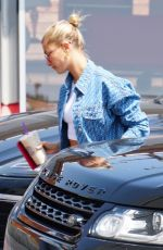 HAILEY BALDWIN Out in West Hollywood 08/27/2018