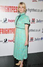 HANNAH ARTERTON at Heretiks Premiere in London 08/25/2018