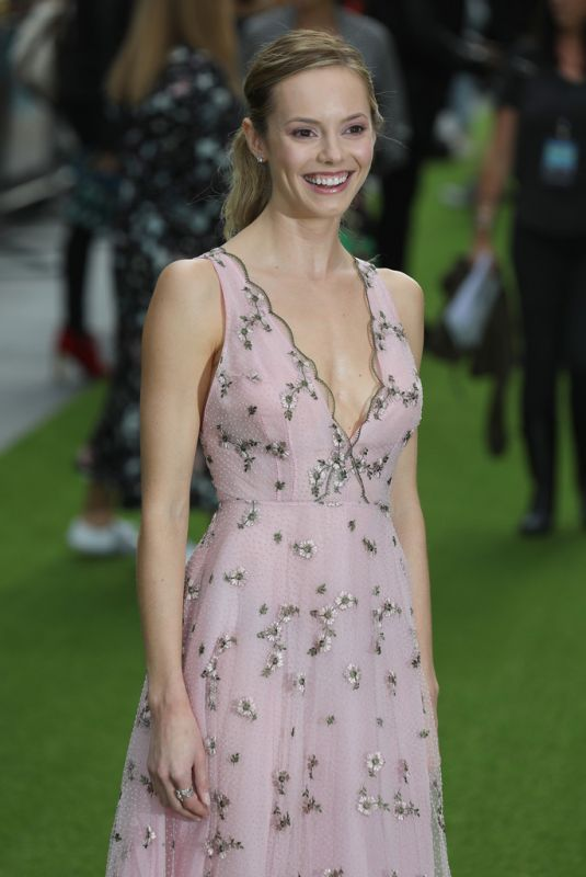 HANNAH TOINTON at The Festival Premiere in London 08/13/2018