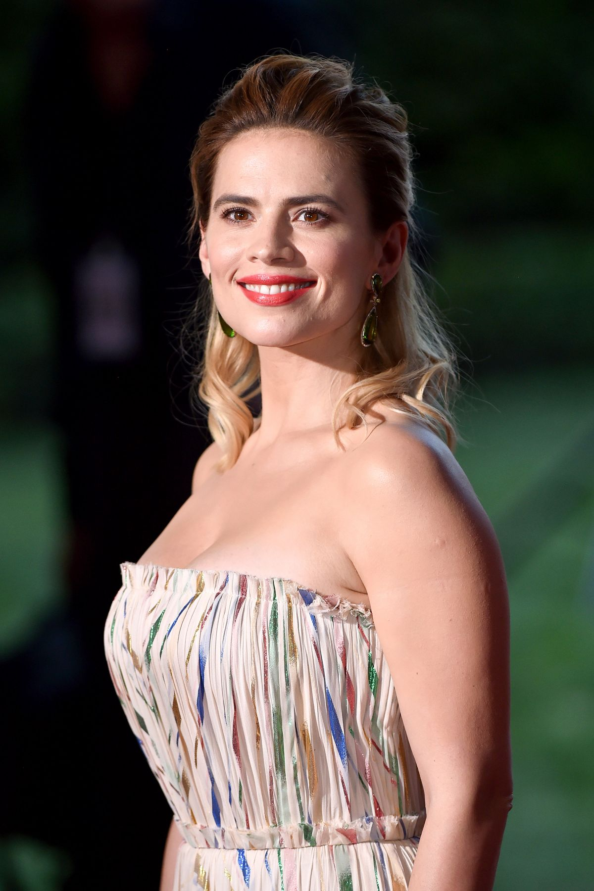HAYLEY ATWELL at Christopher Robin Premiere in Los Angeles