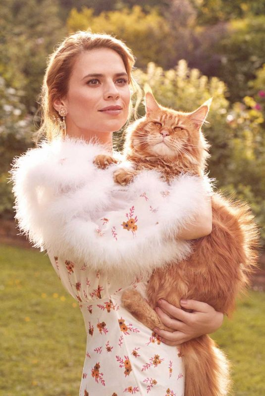 HAYLEY ATWELL in Town & Country Magazine, Fall 2018
