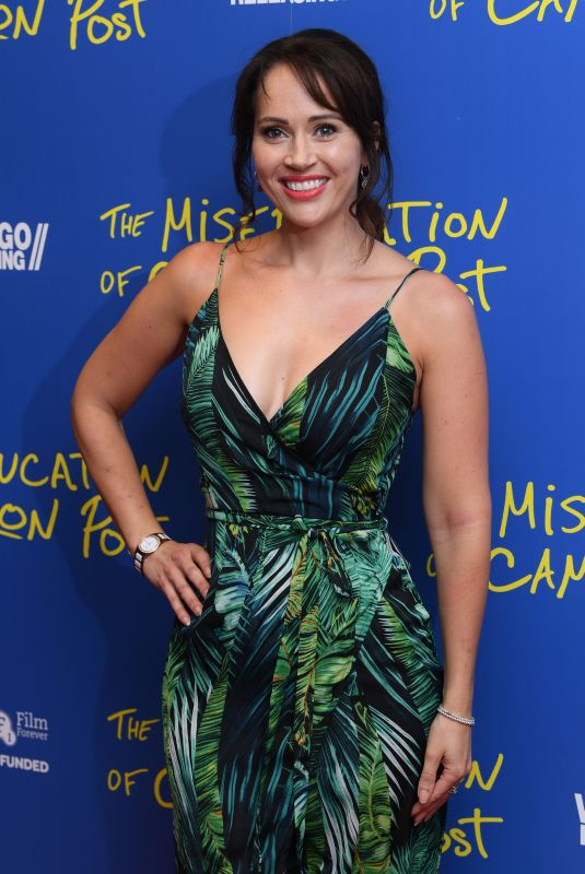 HAYLEY SPARKES at The Miseducation of Cameron Post Screening in London 08/22/2018