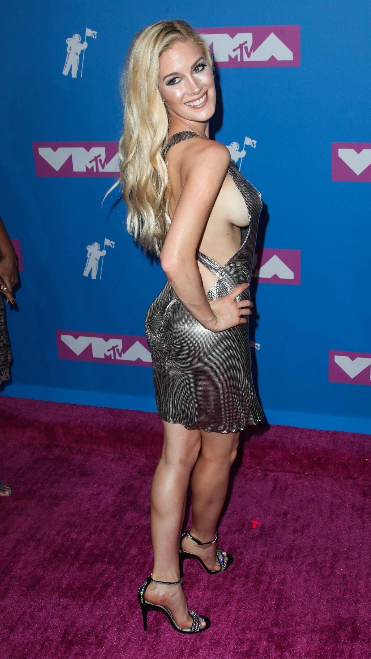 Heidi Montag And Spencer Pratt HEIDI MONTAG at MTV Vi...